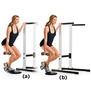 calf raises bent